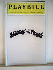 YIDDLE WITH A FIDDLE Playbill EMILY LOESSER / ELIZABETH WALSH Hasty Pudding 1994