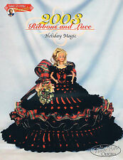 "Crochet Bed Doll ""2003 Holiday Magic"" Bed Doll crochet pattern"