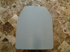 Body Armor Curved 10x12 Level 3 Powdercoated Mil-Spec Certified Armor Plate!