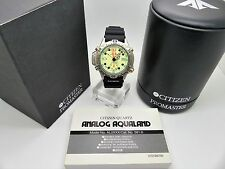 Vintage CITIZEN Promaster Aqualand Divers Watch AL0004-03W 5812-H19543