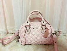 miu miu capsule bag pink Shanghai expo limited edition with lock key strip