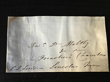 CHARLES JAMES BLOMFIELD - CLERGYMAN & BISHOP OF LONDON - SIGNED ENVELOPE FRONT