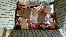 Copper Scrap - 20 Pounds - Misc Pieces -  FREE USA SHIPPING