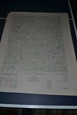 1940's Army topographic map Amelia Virginia -Sheet 5458 IV SW