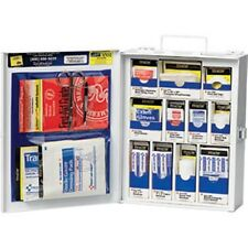 112-piece Med First Aid General Business KIT Cabinet Metal NEW LOW PRICE!90578AC