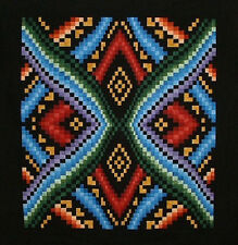 "~ BOLD NEW ~ MEZMERIZING BARGELLO QUILT PATTERN ~ 59""X63"" ~"