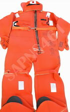UNITOR -AQUATA : ARO V40 - 205  215cm *SOLAS IMMERSION SUIT with Head Pillow* 05