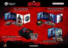 Ant-Man Blufans Exclusive #32 One-Click Tri-Pack SteelBook No. 205 w/Box