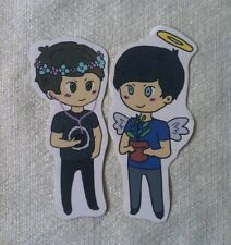 Dan and Phil Sticker Set danisnotonfire and AmazingPhil YouTube
