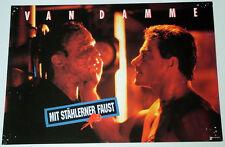 Van Damme MIT STÄHLERNER FAUST  Aushangfoto # 4  EA