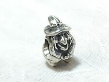 AUTHENTIC PANDORA STERLING SILVER 925 WITCH BROOM CHARM BEAD 790544 RARE RETIRED