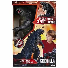 Godzilla Powerful Monster Swinging Tail 24 Inch Big Action Figure Child Toy NEW