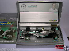 SUPERSLOT H3621A MERCEDES AMG F1 #6 PETRONAS NICO ROSBERG  LTED  SCALEXTRIC UK