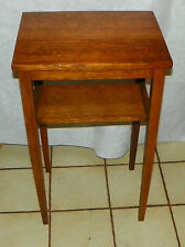 Solid Quartersawn Oak Side Table / End Table / Work Table  (RP-T255)