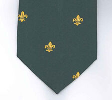 SCOUTS OF HONG KONG - Scout Leader & Commissioner Official Green Tie - BRAND NEW