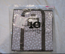 Thirty One 31 Room To Grow Utility Bin Lotsa Dots Collapsible Storage Tote NWT