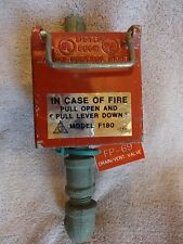 GEM Model F180 Pull In Case Of Fire  Alarm  Box Cast Aluminium