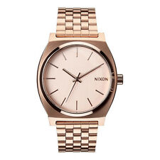 NIXON NEW Men's Rose Gold Watch Time Teller BNIB