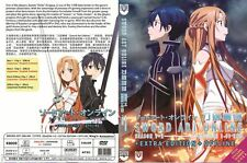 DVD Sword Art Online Season 1 + 2+Extra Edition(English Dub)+Offline (Jap Dub)