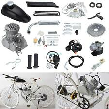 80cc 2-Stroke Motor Engine Kit Gas for Motorized Bicycle Bike Cycle DIY Silver