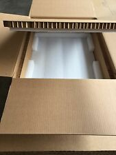 "Hexacomb & Foam Custom Box 33.5"" x 23"" x 9"" -  for shipping server BBU1U"