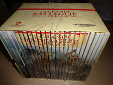 OPERA COMPLETA BOX COFANETTO 24 DVD LE GRANDI BATTAGLIE DALL´ANTICHITA´ ALL´800