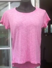 ATMOSPHERE PINK WIDE NECKED CAP SLEEVED LOOSER FIT TOP - SIZE 6