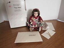 Marie Osmond 1999 I Love You Beary Much Tiny Tot W/Box & Coa