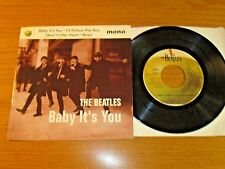 """BEATLES MONO EP w/PICTURE SLEEVE - CAPITOL/APPLE - """"BABY IT'S YOU"""""""