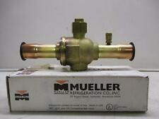 Mueller AC17865 Cyclemaster 1-1/8 Ball Valve With Access Port-New