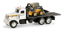 NEW John Deere Peterbilt Model 367 Truck with 320E Skid Steer 1/64 Scale (51309)