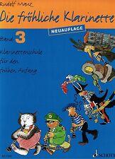 Klarinette Noten Schule : Die fröhliche Klarinette Band 3 MAUZ - Neuauflage