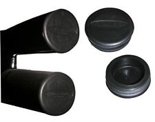 "Smittybilt 3"" Tube Bumper End Caps for Jeep Tube Bumpers Black"