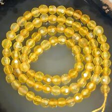 """4mm Faceted Natural Gemstones Faceted Round Beads 15"""" ~ 16"""" Pick Stone"""