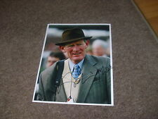 Arthur MOORE  Irish Horse Racing Trainer  13/03/97  Hand SIGNED Press Photo