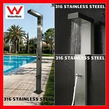 SALE! 316 MARINE GRADE Stainless Steel Outdoor Indoor Backyard Shower Panel