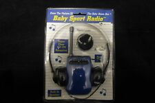 Baby Sports Radio by Baby Boom Box, with Head Phones & Armband, New in Package