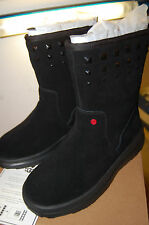 NIB UGG Rock n Roll Boots Suede Lined luxurious UGGpure wool Size 3 Medium