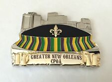 NEW ORLEANS MARDI GRAS NAVY CPOA CHIEF SUPERDOME NO SAINTS POLICE CHALLENGE COIN