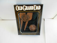 Old Grand Dad Golf Utility Kit. Marker, Green Repair/Cleat Tightner. MC25