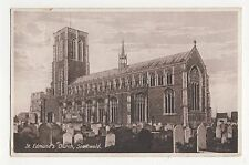 Suffolk, St. Edmunds Church, Southwold Postcard, A845