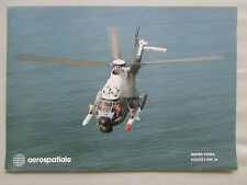 DOCUMENT HELICOPTERE AEROSPATIALE AS 332 SUPER PUMA AM 39 EXOCET MISSILE