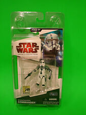 "Star Wars 2009 SDCC EXCLUSIVE Legacy Collection Stormtrooper Commander 4"" figure"