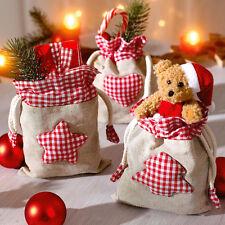 3 Weihnachtsbeutel Nikolausstiefel Stiefel Weihnachtsstiefel Weihnachtsdeko Deko