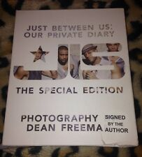 JLS Just Between Us Our Private Diary SIGNED Special Edition Hardback Book
