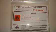 "MAGNESIUM FIRE STARTER  POWDER"" 50 GRAMS "" Best Value on Ebay * BUSH-CRAFT KITS"
