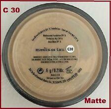 Bare Escentuals Bare Minerals MATTE Foundation Medium TAN C30 6g XL SPF 15 NIB