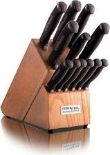 Cold Steel 6 Steak Knifes Kitchen Classics Whole Set With Wood Block 59KSSET NEW