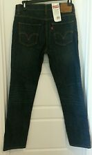Levis Mens 510 Skinny Jeans 55100061New with Tags 34x30