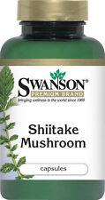 SWANSON PREMIUM Shiitake Mushroom 500mg 60 capsules